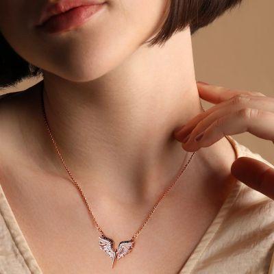 天使の翼ネックレス