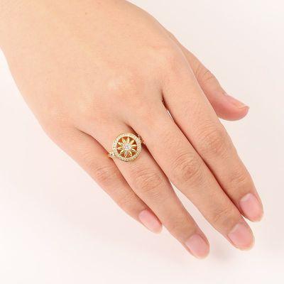Sunflower Dreamcatcher Ring