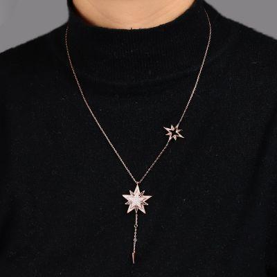 星ペンダントネックレス
